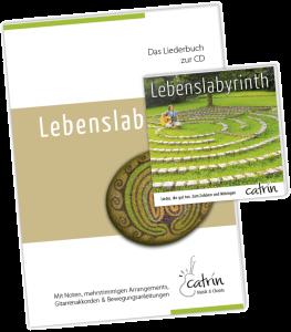 Lieber Album Lebenslabyrinth, Catrin Wolfer, Chants, neue kirchliche Musik